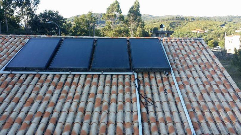 Captadores Solares Térmicos Pazos de Borbén