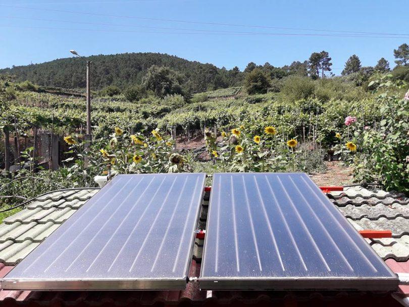 Captadores Solares Térmicos en Castrelo de Miño-Solar Térmica Orense