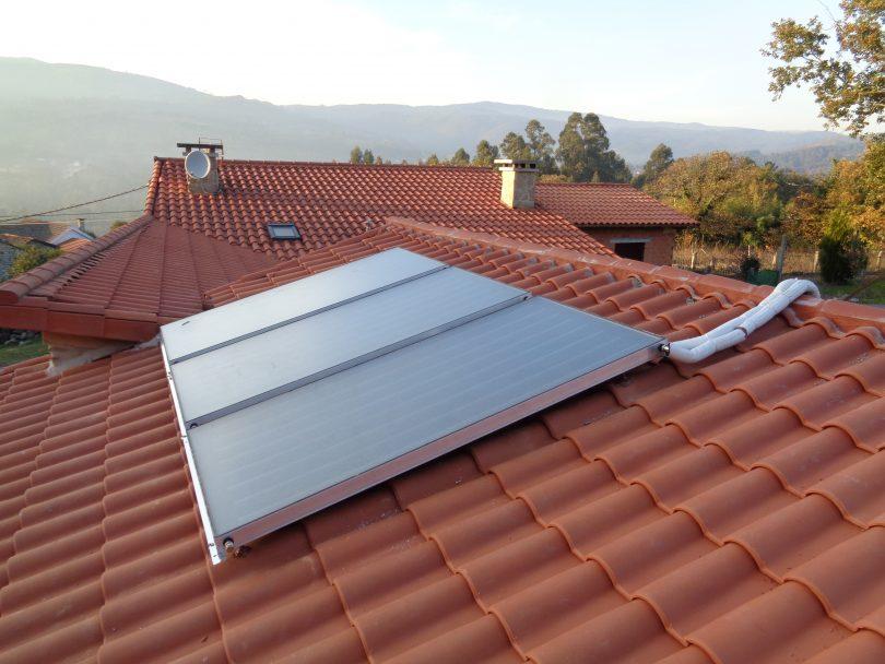 Paneles Solares Térmicos (A Cañiza)