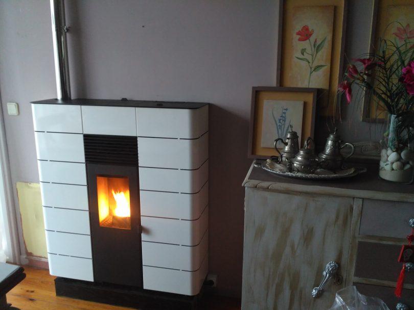 Estufa de Pellets 8kW en Vigo