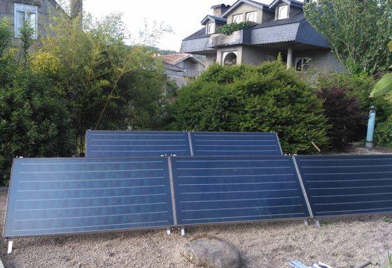 Captadores Solares termicos para ACS y Calefacción