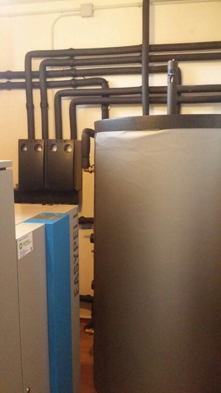 Caldera de Pellets Easypell 32kW en Mos (Dornelas)