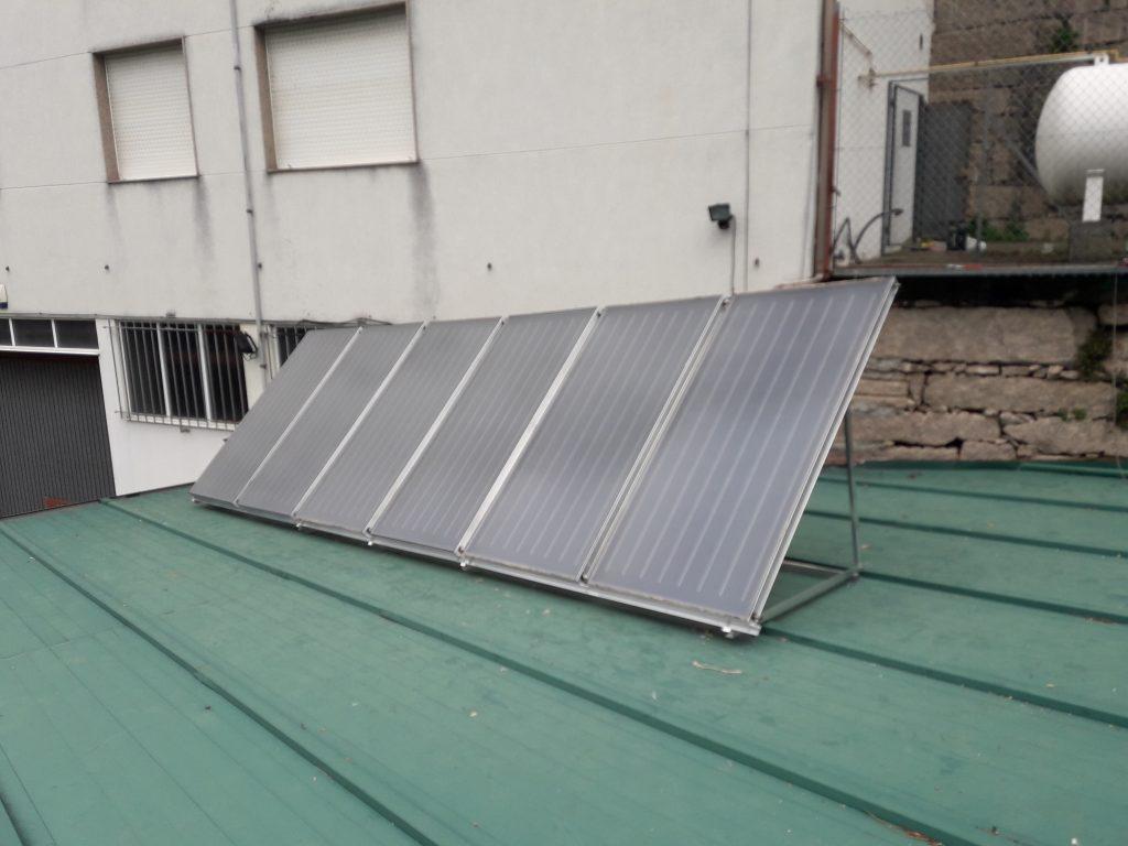 Paneles Solares T 233 Rmicos Para Acs Calefacci 243 N En Hostal