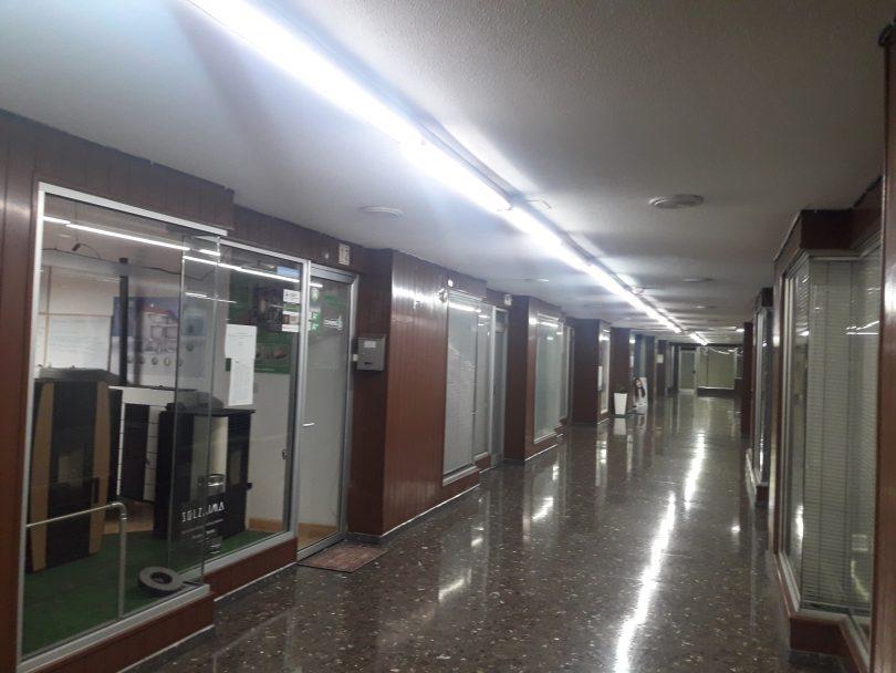Iluminación LED en Galerias Comerciales