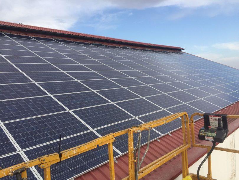 Solar Fotovoltaica 30kwp en Sanxenxo