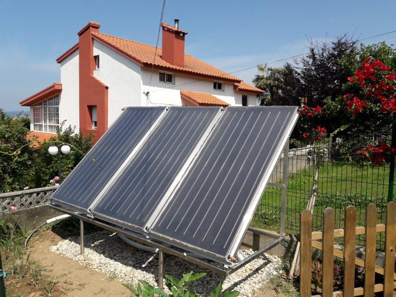 Instalación Solar Térmica en Vigo (Paneles solares térmicos)
