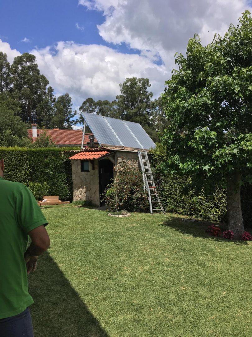 Instalación Solar Térmica Tui (Randufe)