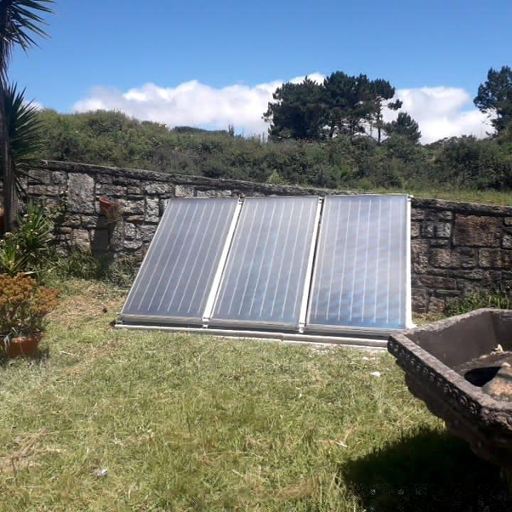 Captadores Térmicos instalados en Sanxenxo (Aios)
