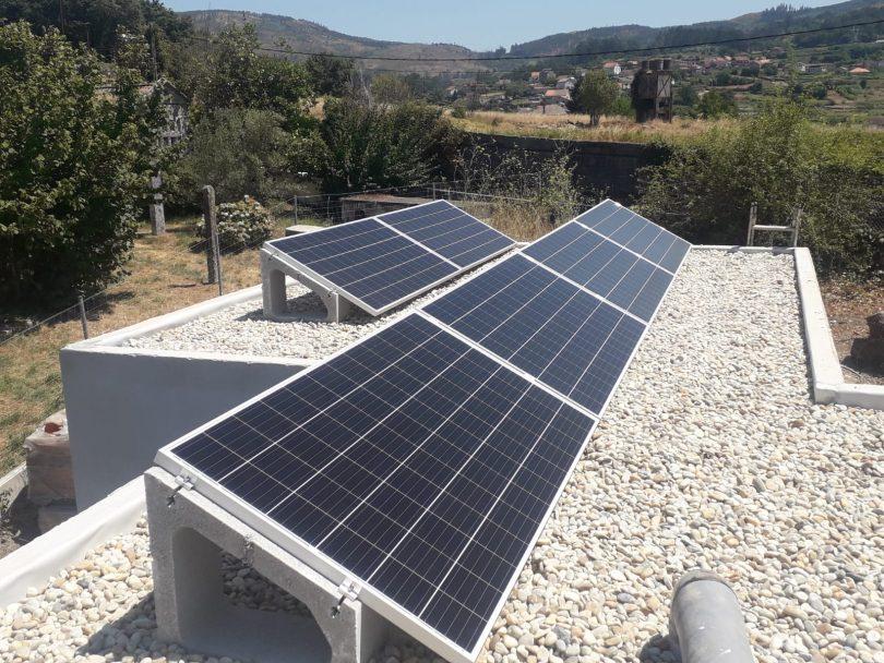 Instalación Fotovoltaica 4,8kW Vivienda Unifamiliar Redondela (Reboreda)