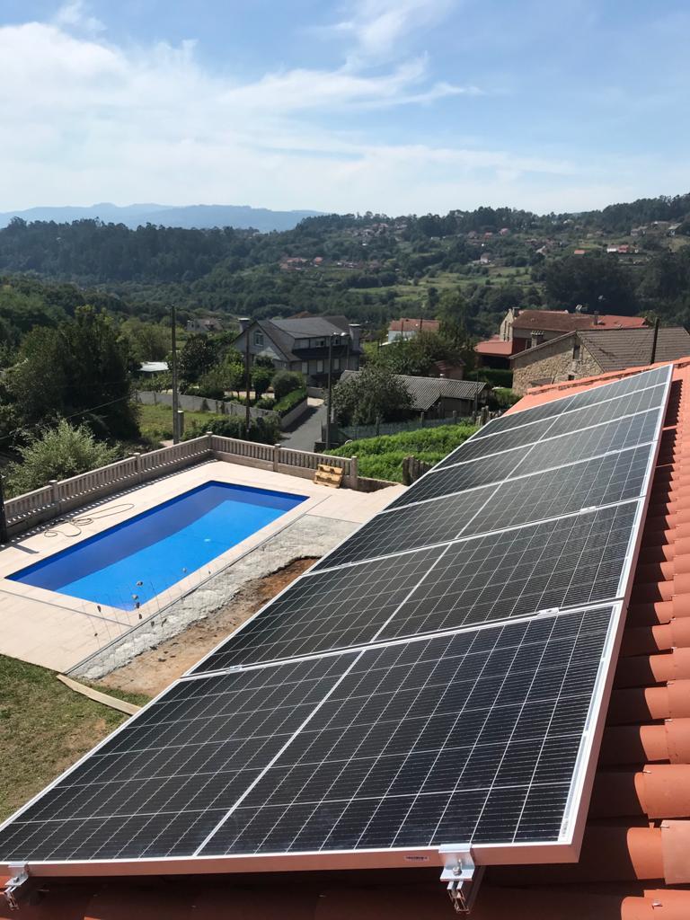 Instalación Fotovoltaica 2,5kW en Vivienda Mos (Louredo)